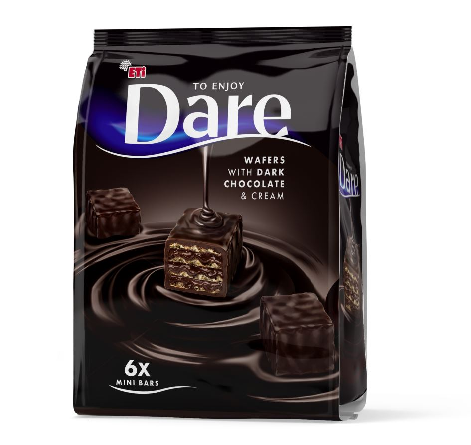 Dare Chocolate Wafer MiniBites 122g