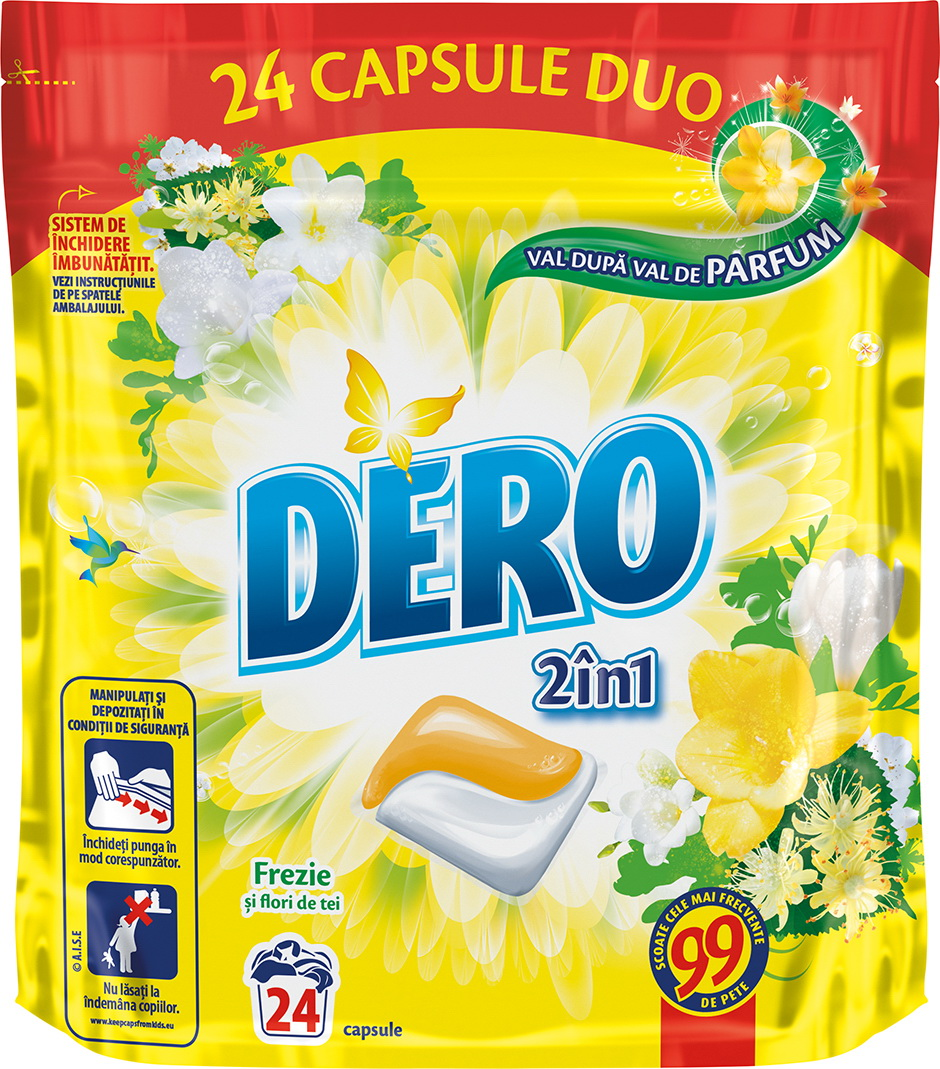 Simulare DERO 2in1 DuoCaps 24W Yellow Nou