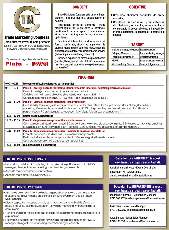 Trade Marketing Congress