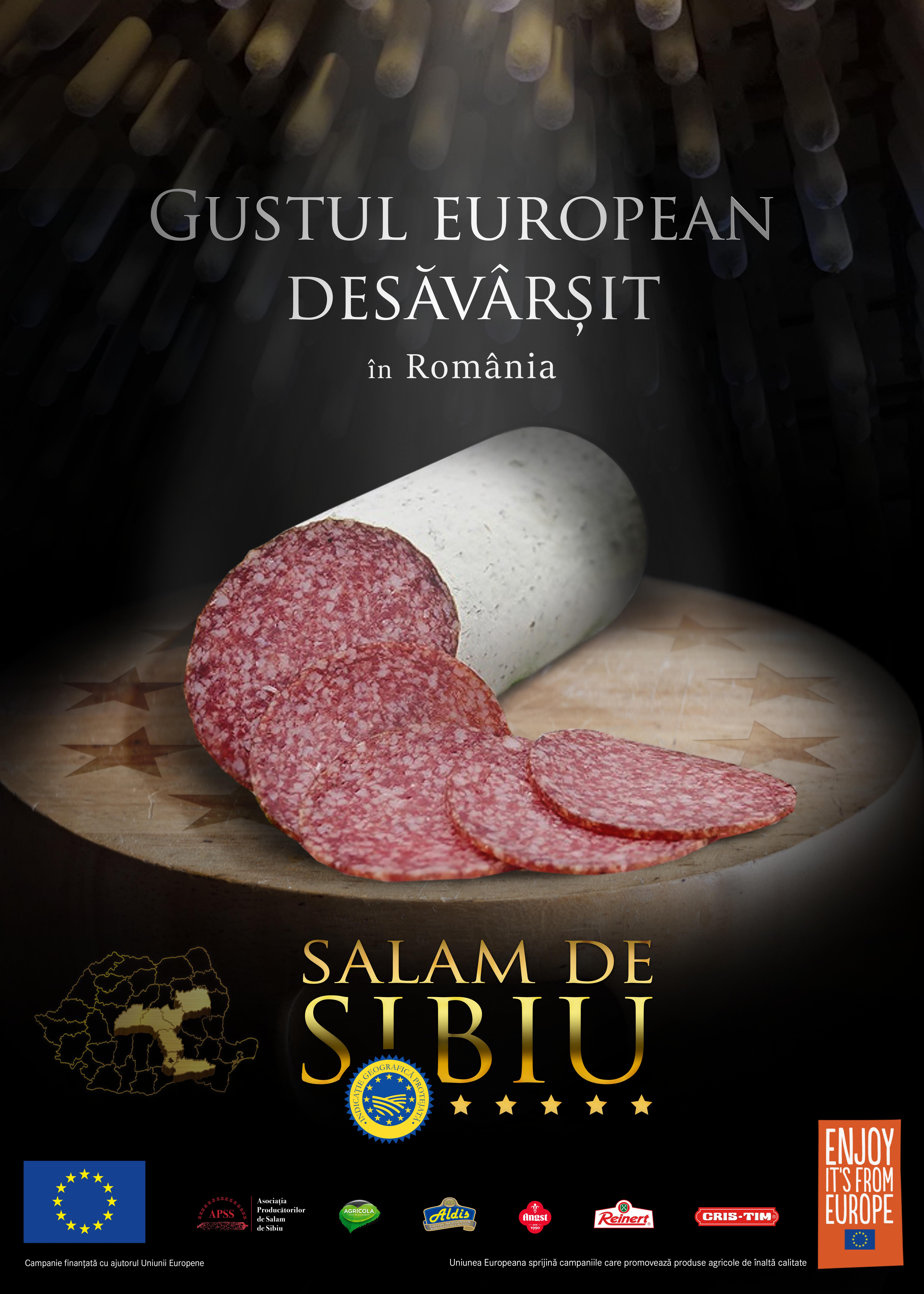 imagine Salam de Sibiu IGP proiect Enjoy It s from Europe 2019