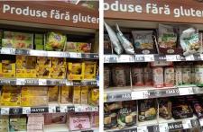 Alimentele fără gluten – o piață de 44 de milioane de lei, dominată de importuri