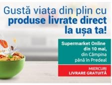 Carrefour online Supermarket extinde livrarea pe Valea Prahovei, de la Câmpina la Predeal