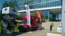 Live Food Fest organizat de Carrefour pe esplanada sediului său central