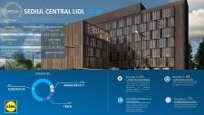 Lidl şi-a inaugurat noul sediu – o clădire foarte prietenoasă cu mediul şi cu angajaţii