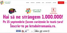 """""""Let's Do It, Romania !"""" şi Kaufland vor să atragă un milion de români la Ziua de Curăţenie Naţională"""