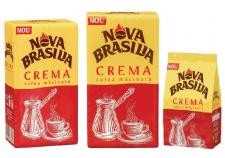 Jacobs Douwe Egberts relansează gama de cafea Nova Brasilia prăjită și măcinată
