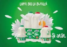 Albalact a lansat Zuzu Bio, lapte la butelcă
