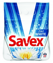 SAVEX 2in1 White, o nouă formulă